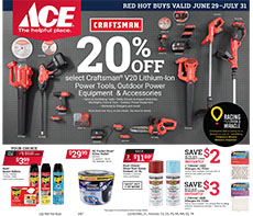 Gardnerville Ace Hardware current ad